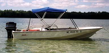 Photo Profile view of boat & Adding A Bimini