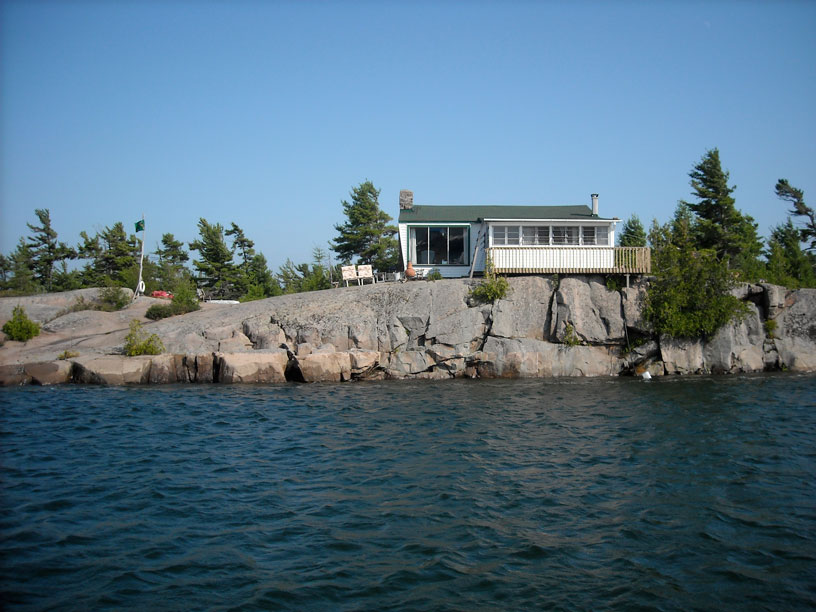 Photo: Cunninghams Island on Small Craft Route, Georgian Bay.