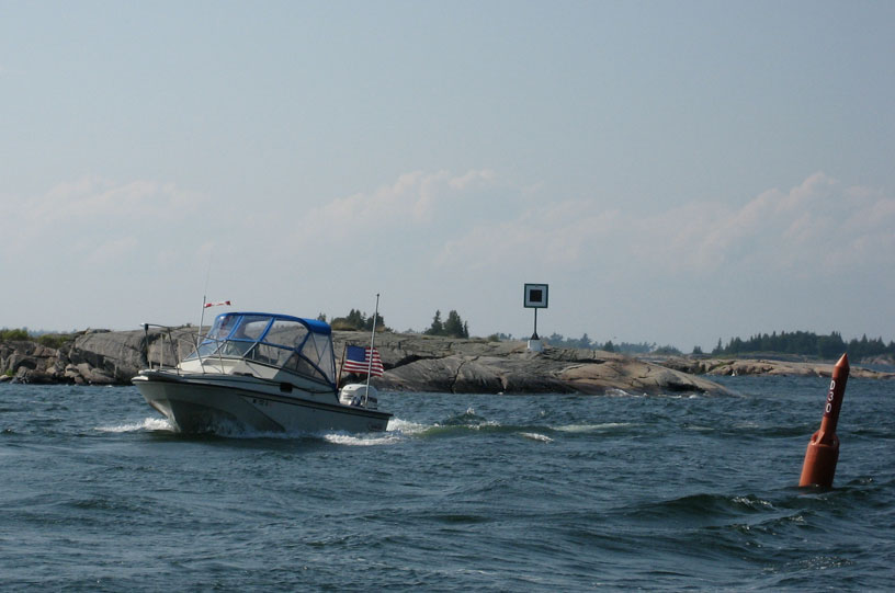 Photo: Kantos Point on Small Craft Route, Georgian Bay.