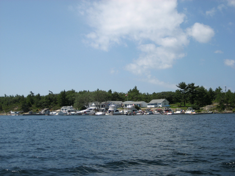 Photo: Henri's at Frying Pan Island, Ontario.