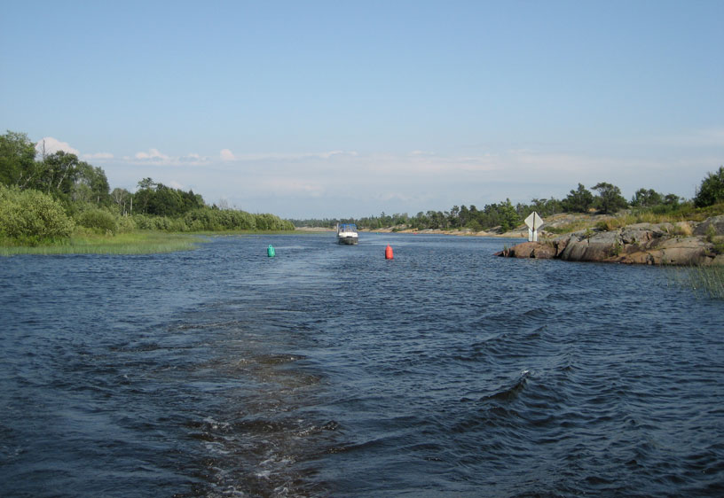 Photo: Key River entrance channel.