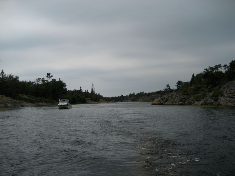 Photo: Key River channel.