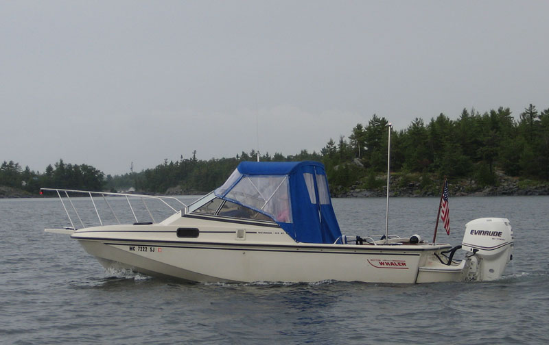 Photo: CONTINUOUSWAVE underway on the Small Craft route in Georgian Bay.