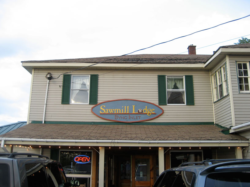 Photo: Sawmill Lodge, Byng, Ontario.