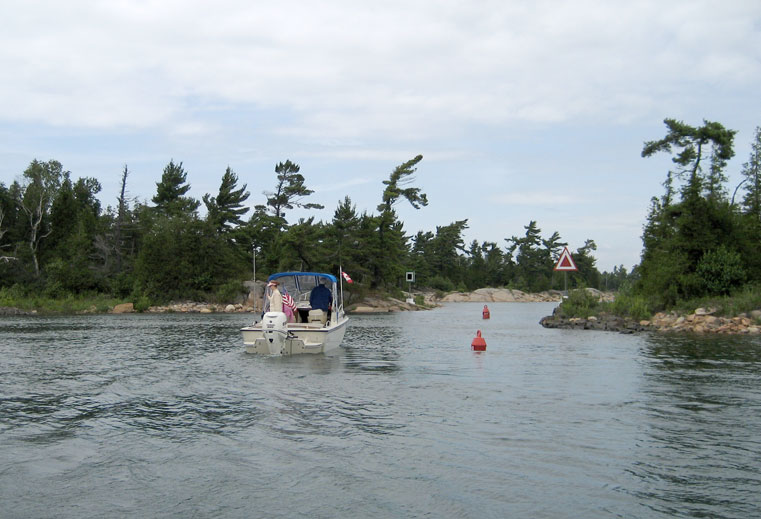 Photo: Shoal Narrows, at Mile 38.5 on the Small Craft Route.