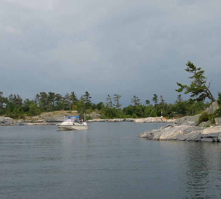 Photo: CONTINUOUSWAVE on the Georgian Bay small craft route.