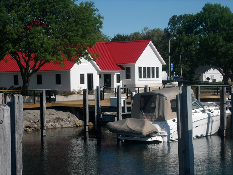 Northport marina new bath house