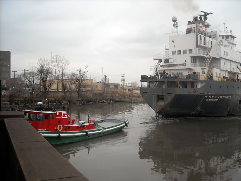 Photo: Ship PETER R CRESSWELL in Rouge River