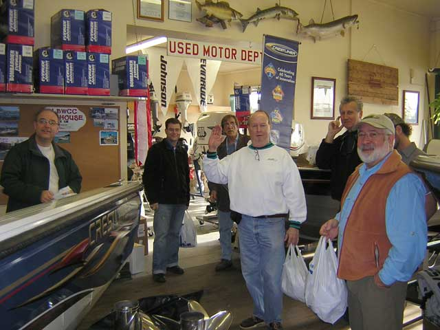 Photo: GLBWCC Clubhouse at Lockeman's Boat and Hardware in Detroit