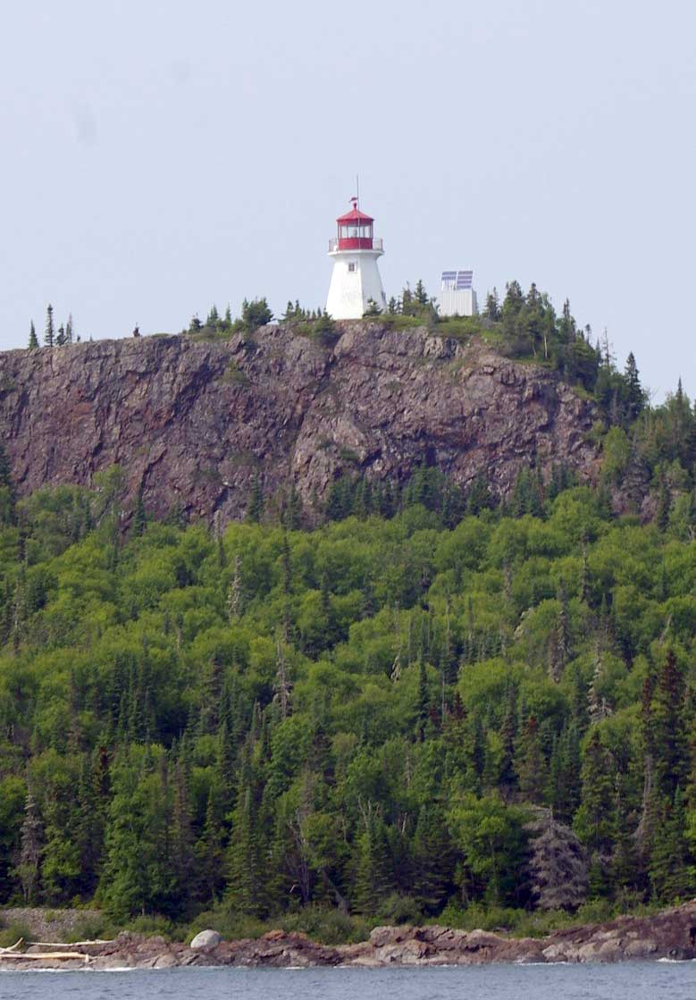 Image: Patterson Lighthouse towering above Lake Superior