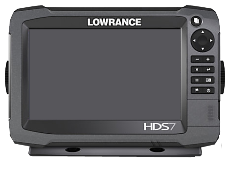 Front panel view of device said to be Lowrance HDS Gen-3