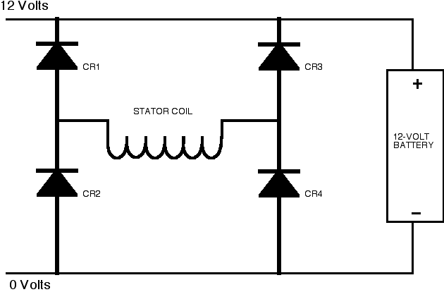connected battery to motor with reversed polarity