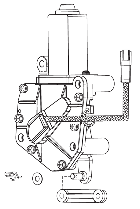 Gear Shift Assembly Shift Actuator Assembly