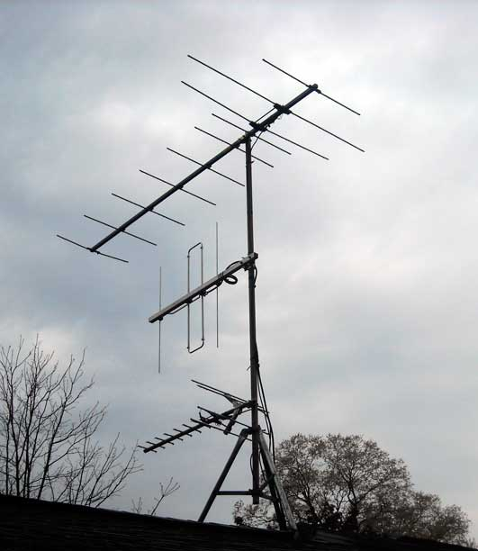 Nice Photo: Antenna On Mast.