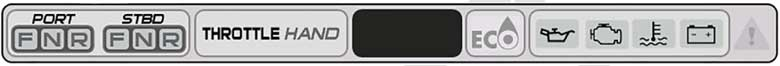 ICON Touch display Status Bar