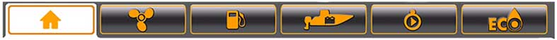 Evinrude ICON Touch Point Command Bar