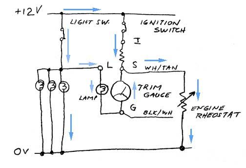 e tec rigging trim gauge moderated discussion areas schematic diagram of trim circuit