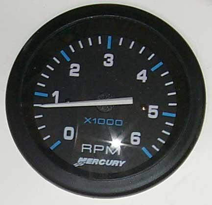 PHOTO: Mercury Tachometer