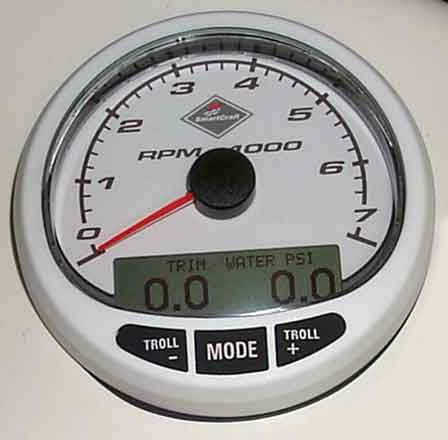 PHOTO: SmartCraft tachometer