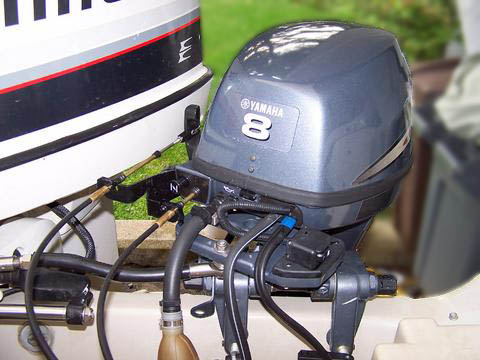 Yamaha Outboard Throttle Cable Bracket Foto Yamaha Best